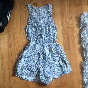Abercrombie and Fitch patterned romper